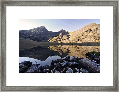 Carrauntoohill Ireland's Tallest Mountain Framed Print by Pierre Leclerc Photography