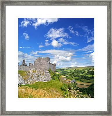 Carreg Cennen Castle 1 Framed Print