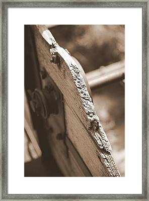 Carriage Framed Print by Caroline Clark