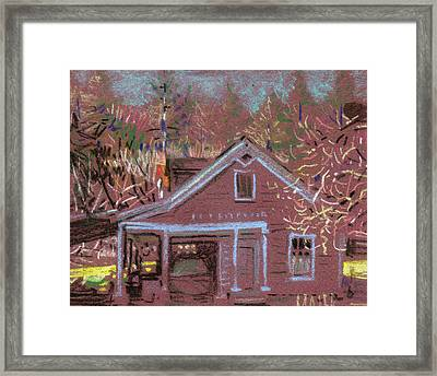 Carriage House Framed Print by Donald Maier