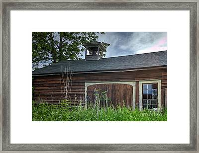Carriage House Framed Print