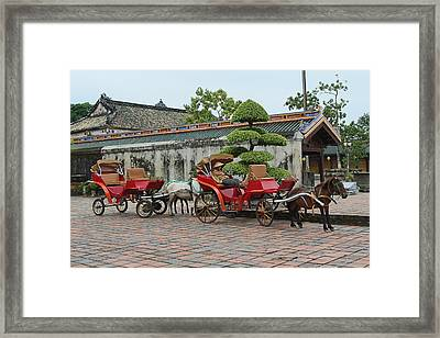 Carriage Rides Framed Print