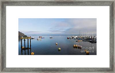 Carrick Roads Cornwall Framed Print