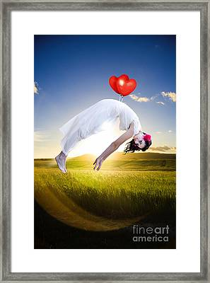 Carried Away By Love And Happiness Framed Print by Jorgo Photography - Wall Art Gallery
