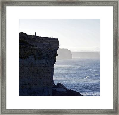 Carried Away By The Moment Framed Print by Holly Kempe