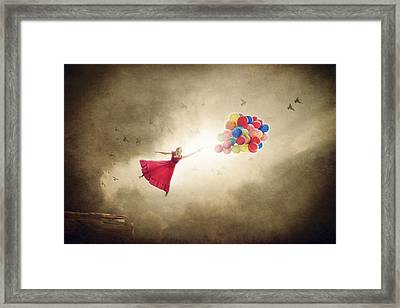 Carried Away Framed Print
