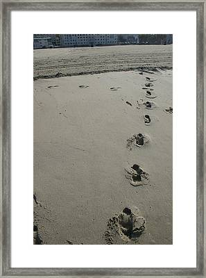 Carried By Christ Framed Print by Matthew Kennedy