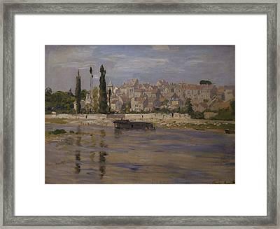 Carrieres Saint Denis Framed Print by Claude Monet