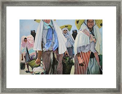 Carriers Framed Print by Richard Barone