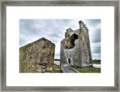 Carrigafoyle Castle - Ireland Framed Print