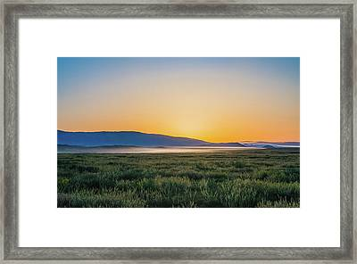 Carrizo Plain Framed Print