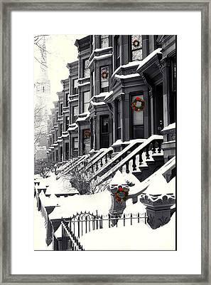 Carroll Street Framed Print
