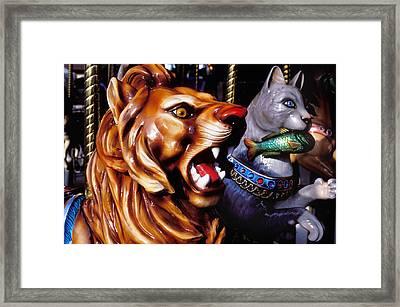 Carrosul Ride Framed Print by Garry Gay