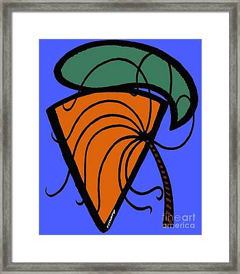 Carrot And Stick Framed Print by Patrick J Murphy