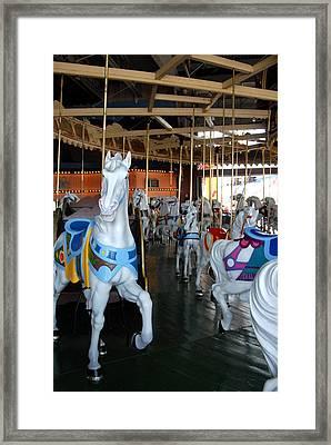 Carrousel 26 Framed Print by Joyce StJames