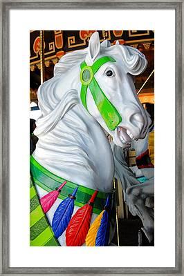 Carrousel 27 Framed Print by Joyce StJames