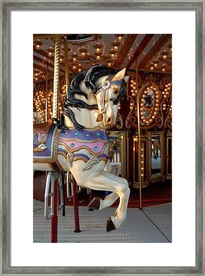 Carrousel 44 Framed Print by Joyce StJames