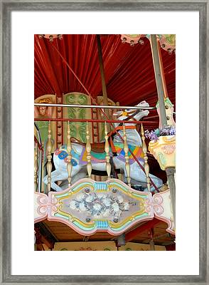 Carrousel 50 Framed Print by Joyce StJames