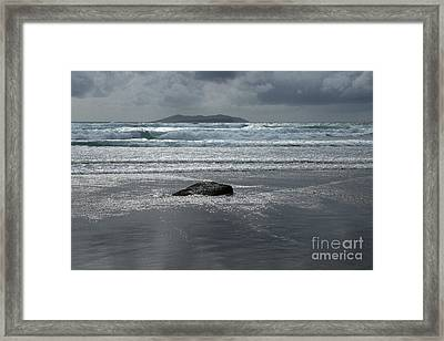 Carrowniskey Beach Framed Print