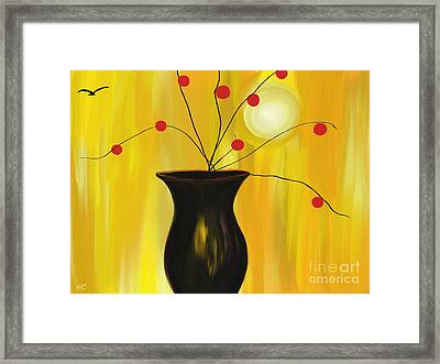 Carrying On Framed Print by Roxy Riou