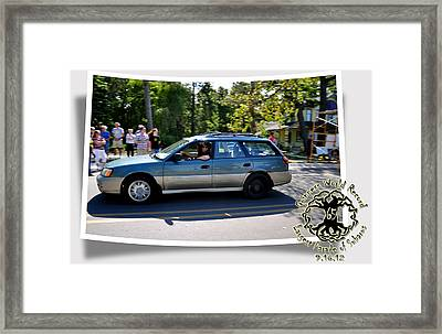 Cars Crossing 106 Framed Print by PhotoChasers