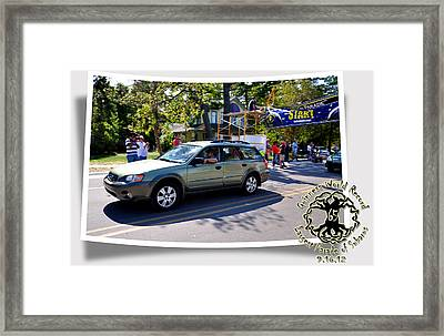Cars Crossing 127 Framed Print by PhotoChasers