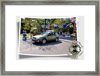 Cars Crossing 165 Framed Print by PhotoChasers
