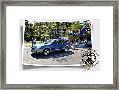 Cars Crossing 191 Framed Print