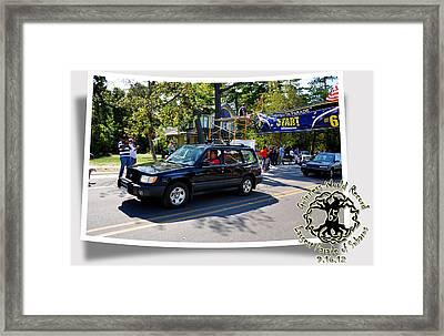 Cars Crossing 193 Framed Print