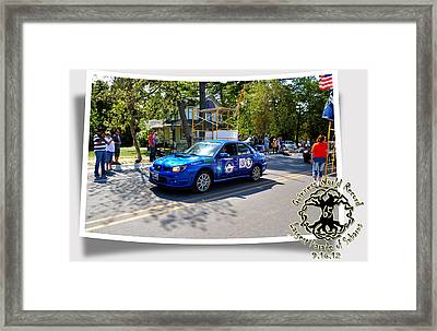 Cars Crossing 255 Framed Print by PhotoChasers