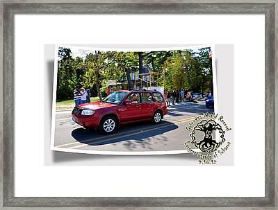 Cars Crossing 256 Framed Print