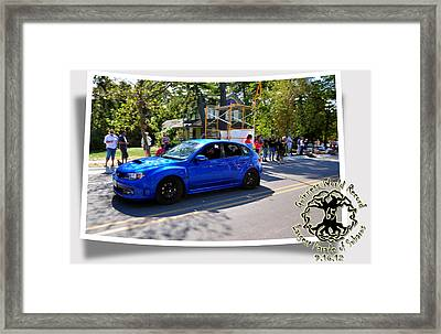 Cars Crossing 283 Framed Print by PhotoChasers