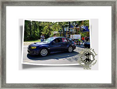 Cars Crossing 64 Framed Print by PhotoChasers