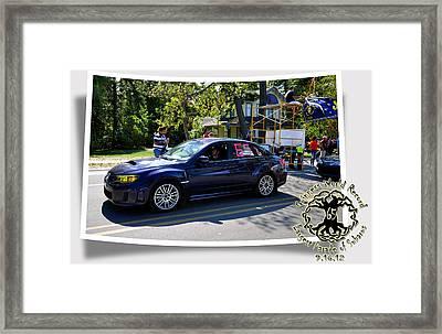 Cars Crossing 64 Framed Print