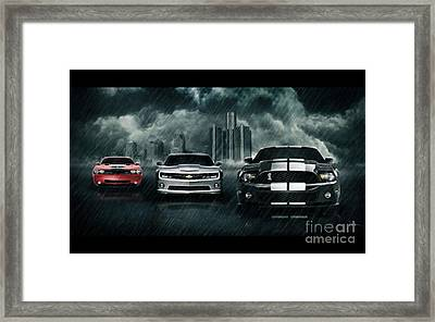 Cars Framed Print by Archangelus Gallery