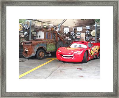 Cars Framed Print by Vicki Lomay