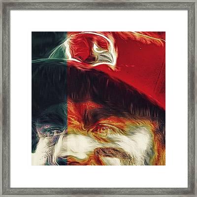 @carsonpalmer3 #carsonpalmer #cardinals Framed Print