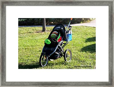 Framed Print featuring the photograph Cart by Marty Gayler