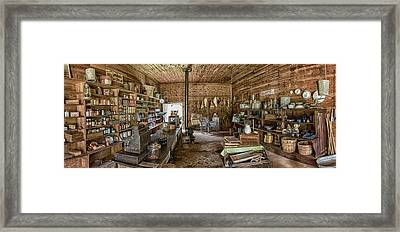 Carter Country Store - 3 Framed Print