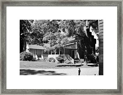 Carter Estate In Franklin Framed Print
