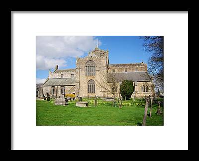 Cartmel Priory Framed Prints