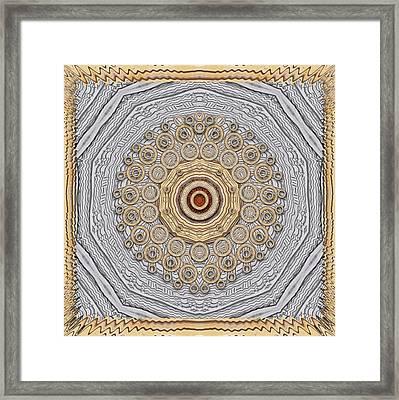 Cartoon Wood Framed Print