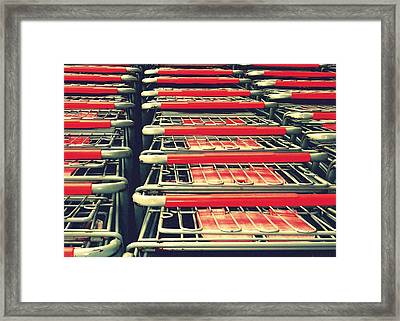 Carts Framed Print