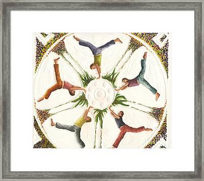 Cartwheels Turn To Carwheels Framed Print by Kayla Race