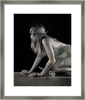Carve It Up Framed Print