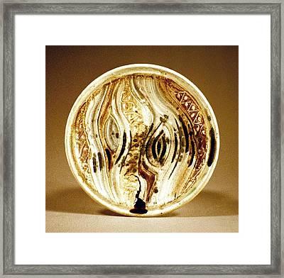 Carved Platter Framed Print by Stephen Hawks