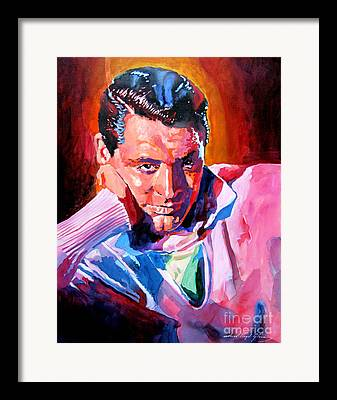 Cary Grant Paintings Framed Prints