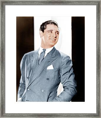 Cary Grant, Ca. Early 1930s Framed Print