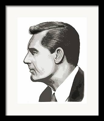Cary Drawings Framed Prints