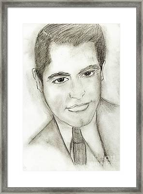 Cary Grant Framed Print by Sonya Chalmers